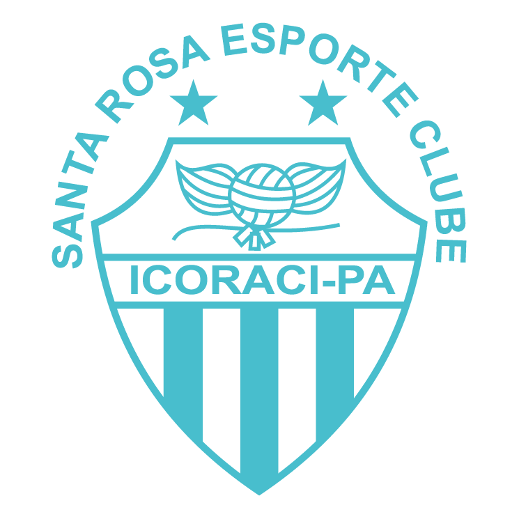 free vector Santa rosa esporte clube de icoraci pa