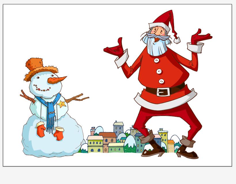free vector Santa vector 6