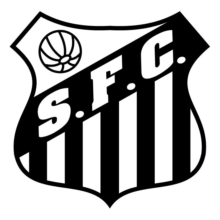 free vector Santos futebol clube de alegrete rs 0