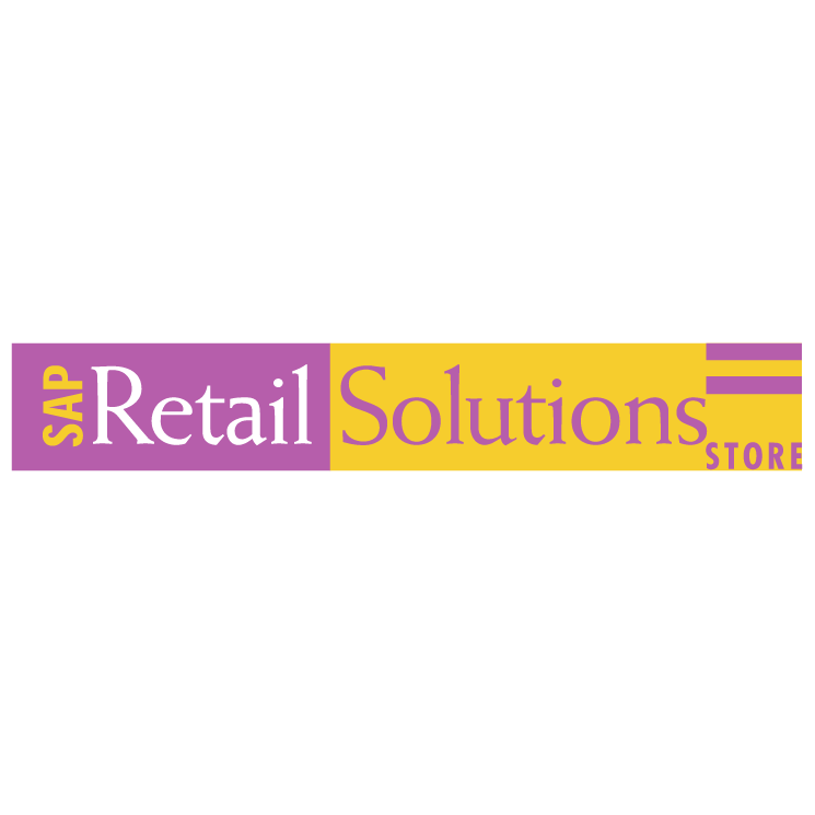 free vector Sap retail solutions store
