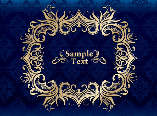 free vector Sapphire noble qualities of the background vector