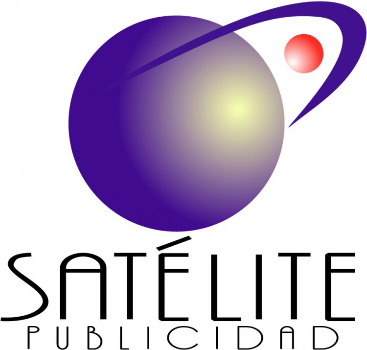 free vector Satelite publicidad