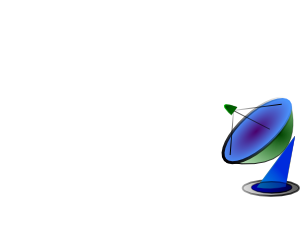 free vector Satellite Dish clip art