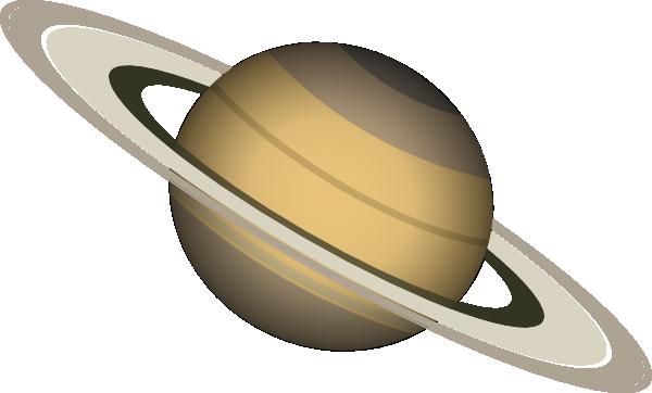 Saturn clip art Free Vector / 4Vector