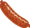 free vector Sausage clip art