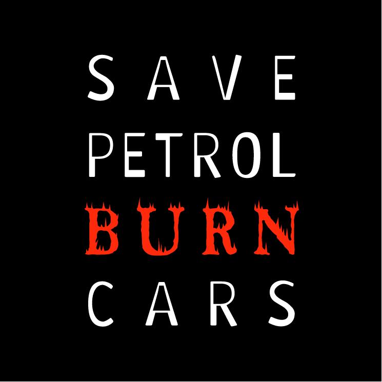 free vector Save petrol