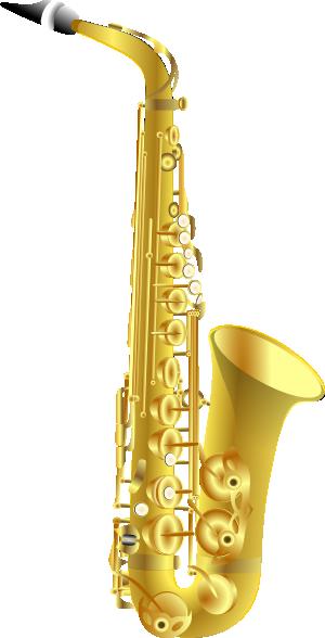 free vector Sax clip art