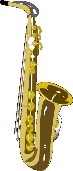 free vector Saxophone  clip art
