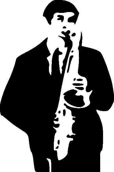 free vector Saxophone Player clip art