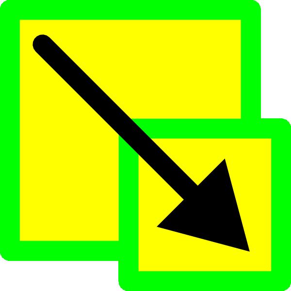 free vector Scale Resample Image Icon clip art