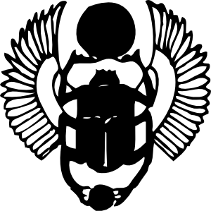 free vector Scarab clip art
