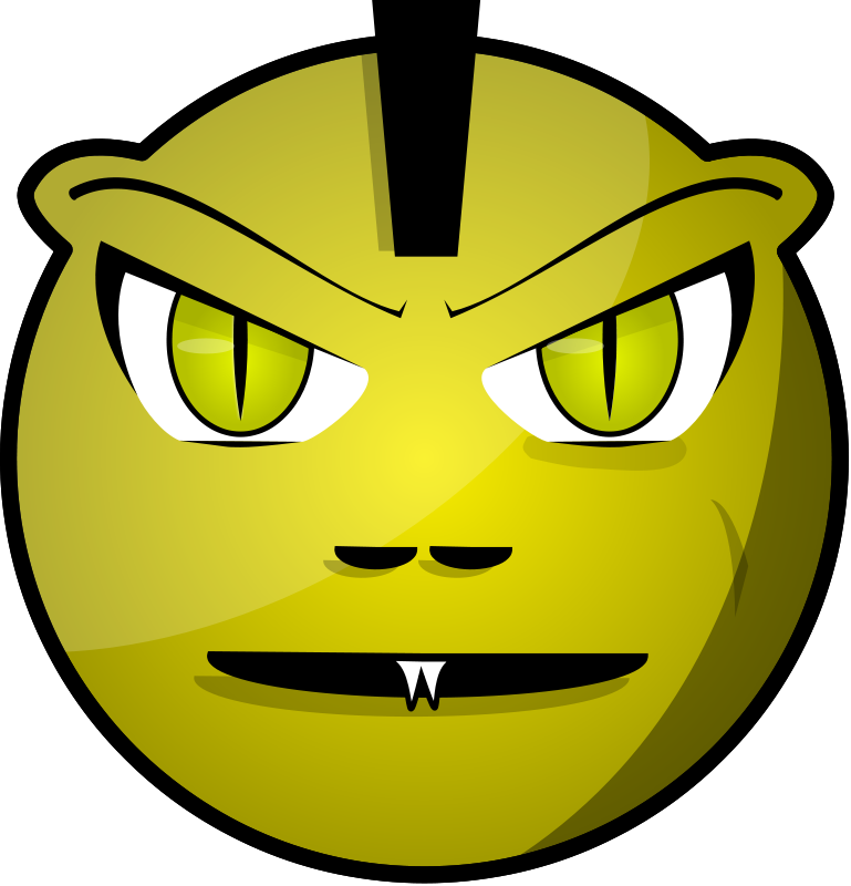 free vector Scary Face Remix