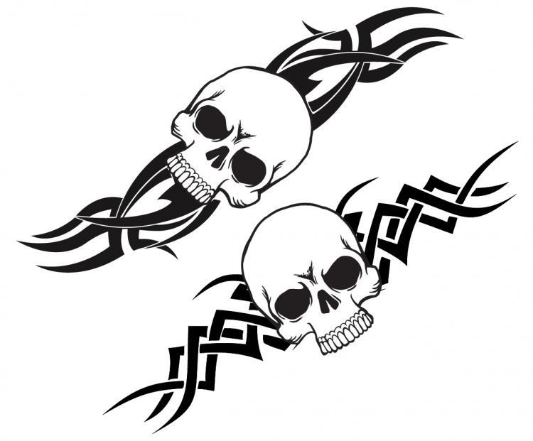 Scary Tattoo Free Vector 4vector Rh Com Dragon Download Machine