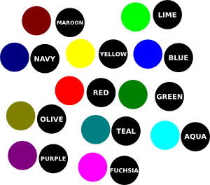 free vector Scattered Color Dot clip art
