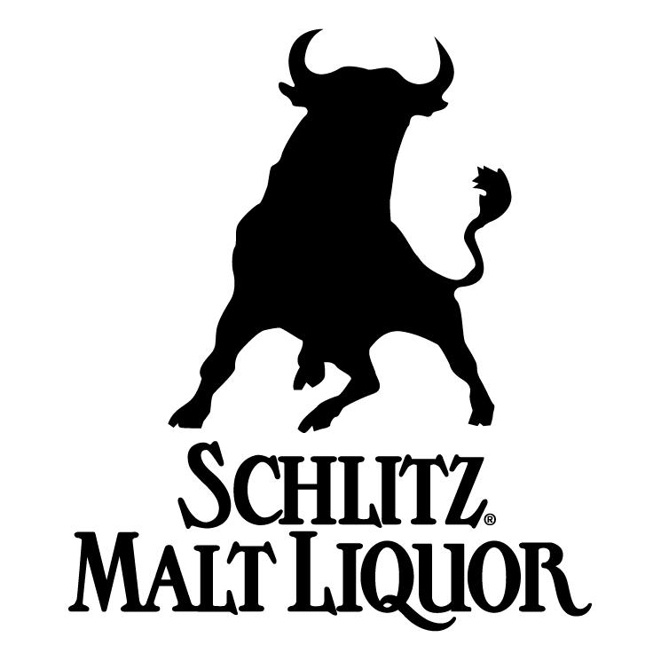 free vector Schlitz malt liquor