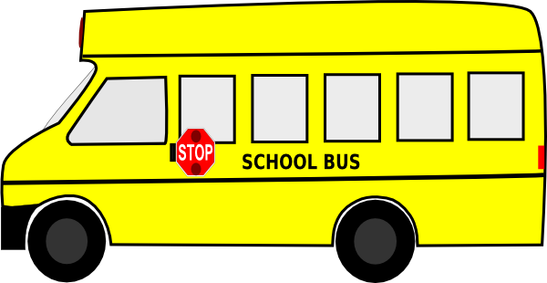 free vector School Bus clip art