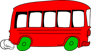 free vector School Bus Vehicle clip art