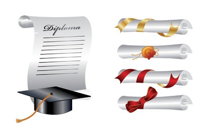 free vector School graduation clip art