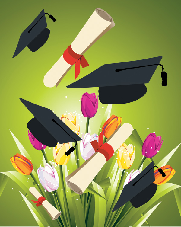 School Graduation Clip Art Free Vector 4vector