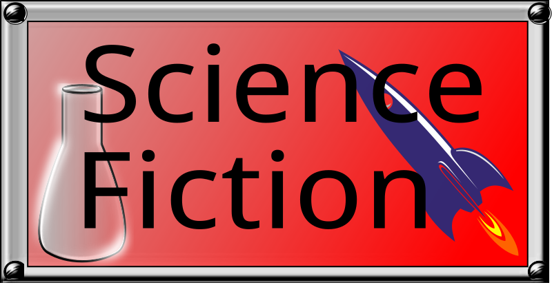 free vector Science Fiction Button