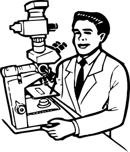 free vector Scientist clip art