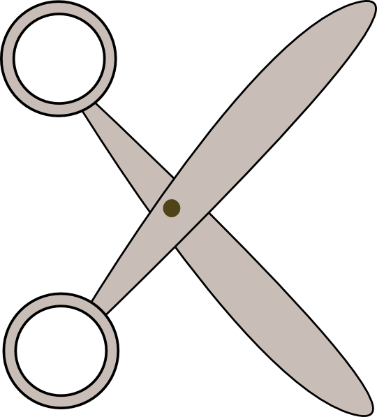Scissors Clip Art Free Vector 4vector