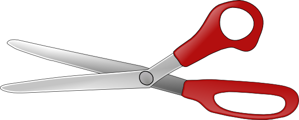 Scissors Open V Clip Art Free Vector 4vector