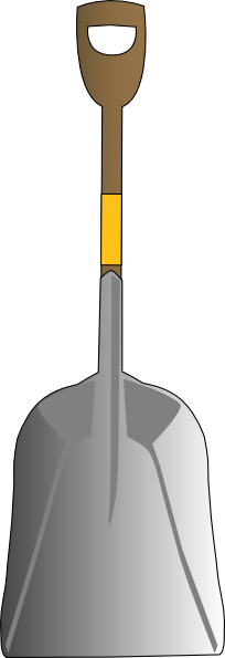 free vector Scoop Shovel clip art
