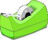 free vector Scotch Tape Roll clip art