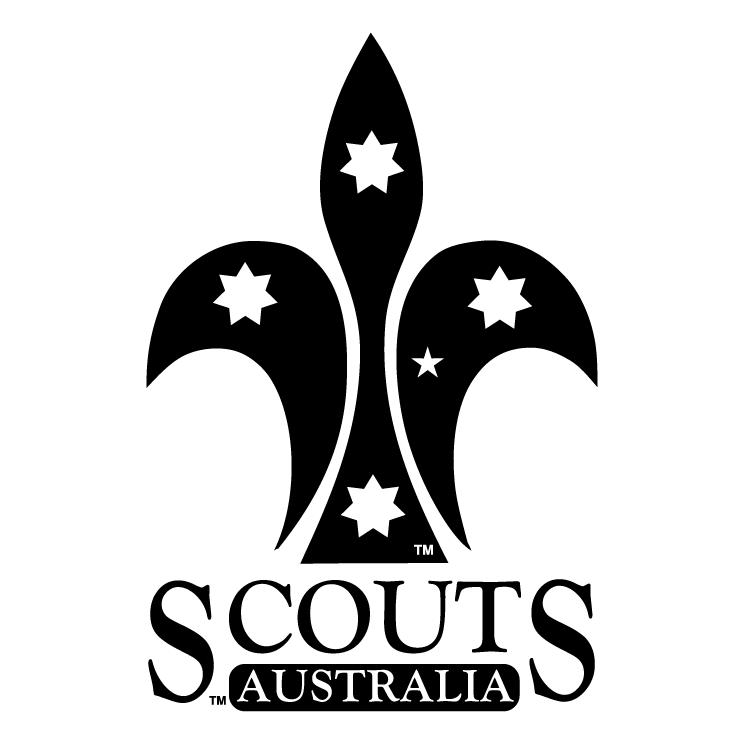 free vector Scouts australia 1