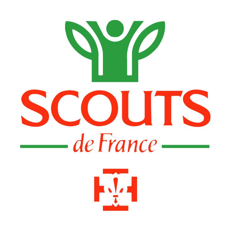 free vector Scouts de france