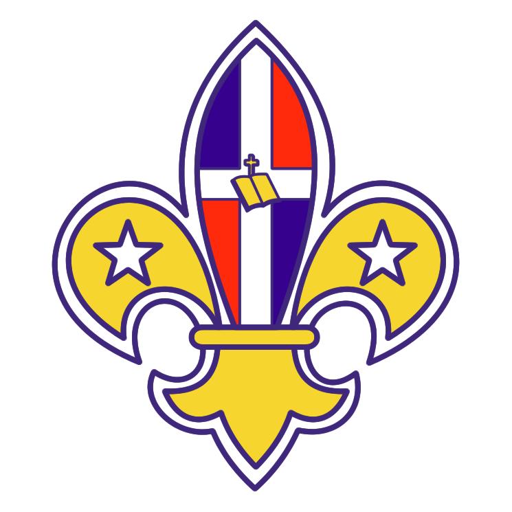 free vector Scouts dominicanos