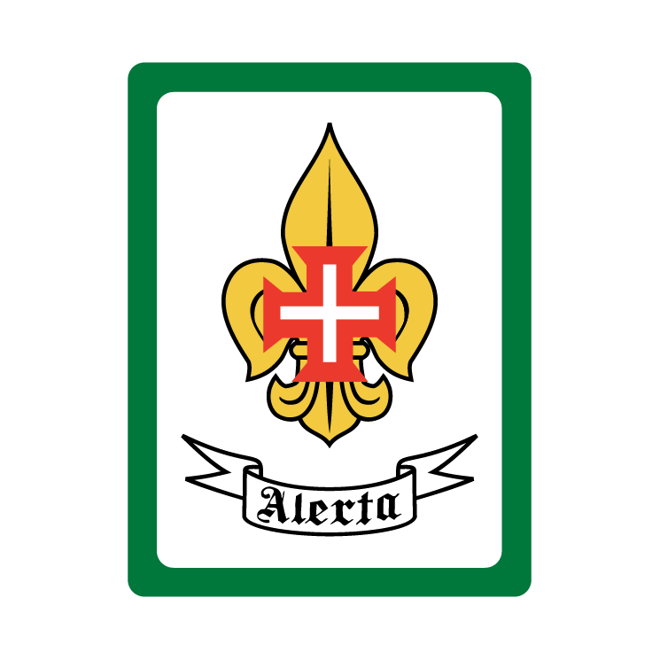 free vector Scouts of portugal