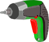 free vector Screwdriver Battery Powered Electric clip art