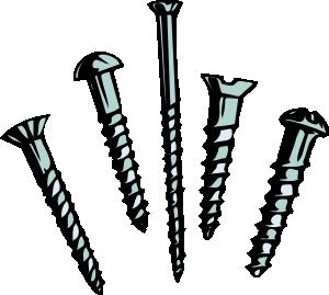 free vector Screws clip art
