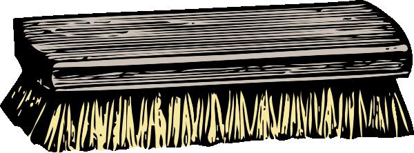 Scrub Brush Clip Art Free Vector 4vector