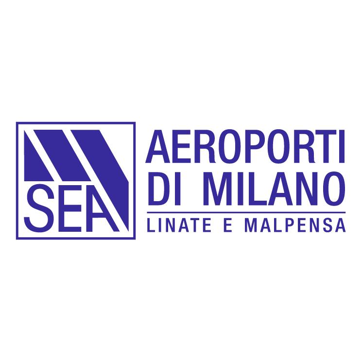 free vector Sea aeroporti di milano