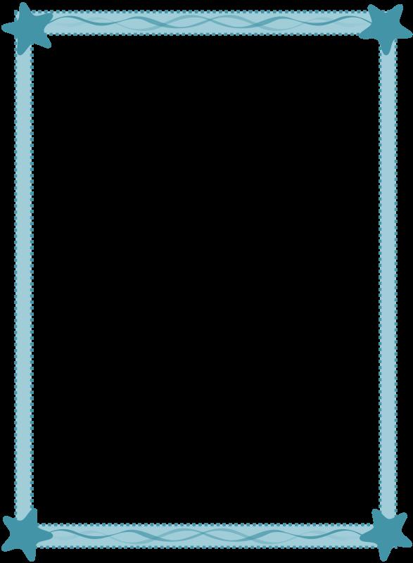 free vector Sea frame