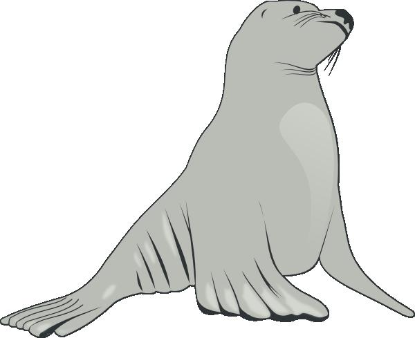 free vector Sea Lion clip art