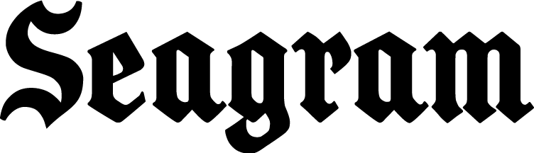 free vector Seagram logo