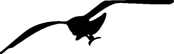 free vector Seagull Contour clip art