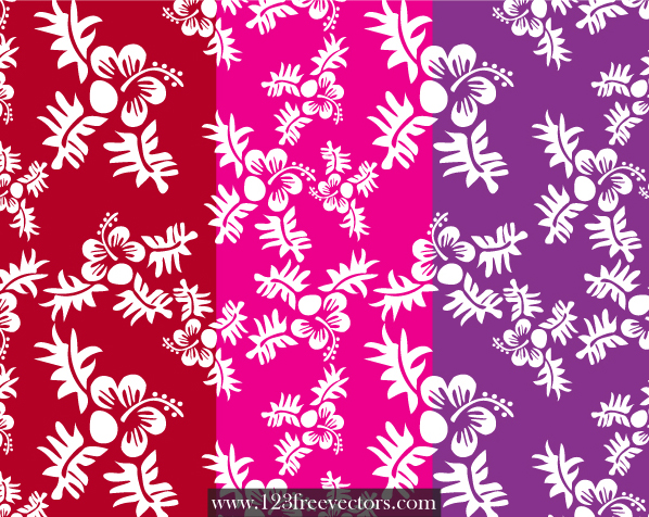 free vector Seamless Flower Pattern
