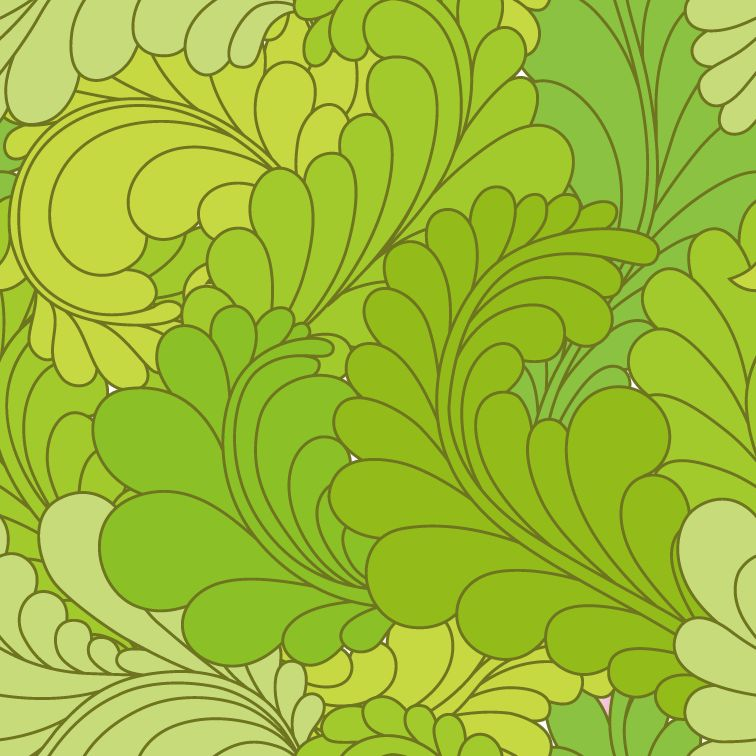 free vector Seamless Ornate Floral Pattern Vector Background