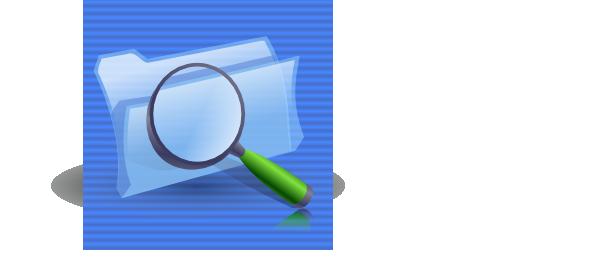 free vector Search Folders Icon clip art