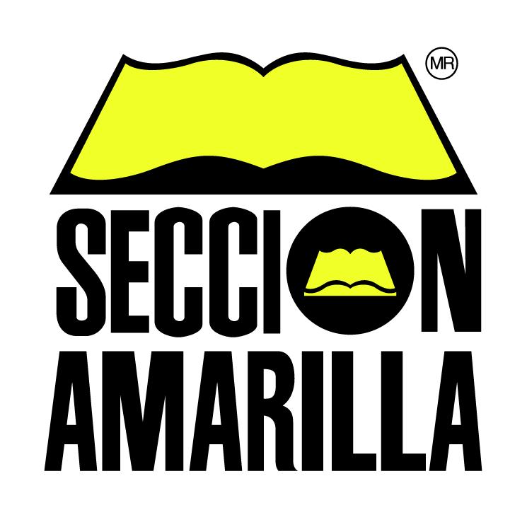 free vector Seccion amarilla