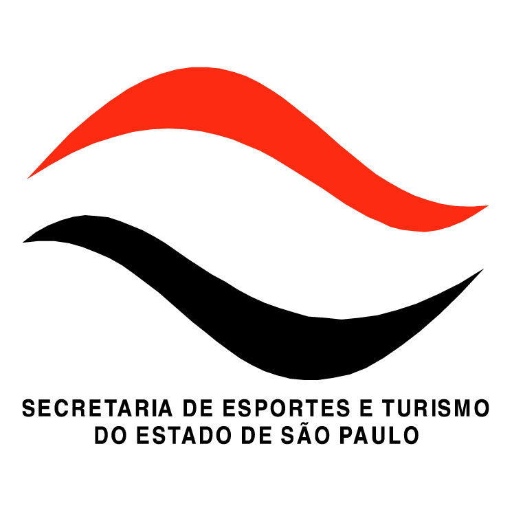 free vector Secretaria de esportes e turismo do estado de sao paulo