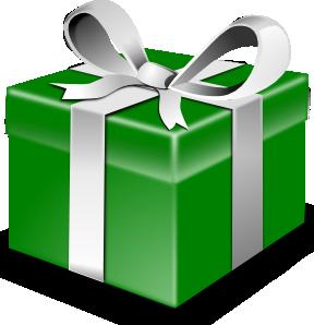 free vector Secretlondon Green Present clip art