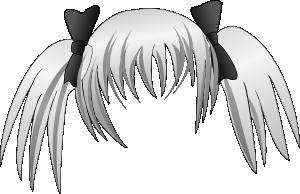 free vector Secretlondon Manga Hair clip art