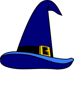 free vector Secretlondon Wizard S Hat clip art