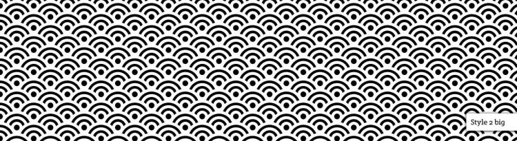 free vector Seigaiha Seamless Pattern